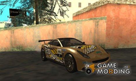 Dewbauchee Massacro Racecar GTA V для GTA San Andreas