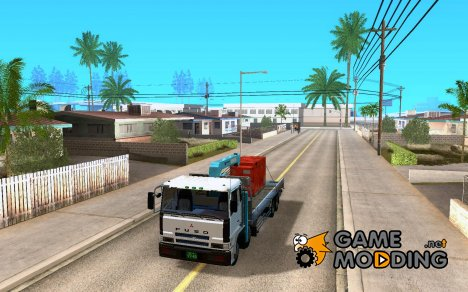 Mitsubishi Fuso crane 8X4 for GTA San Andreas
