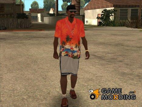 Гавайская рубашка для GTA San Andreas