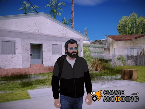 Michael V3 HD GTA V для GTA San Andreas