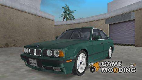 BMW 540i E34 1994 for GTA Vice City