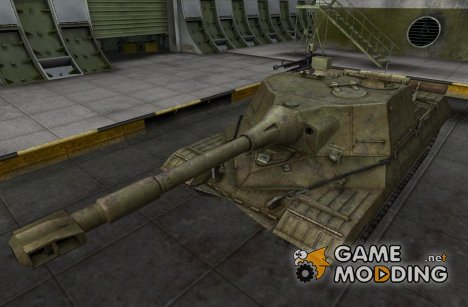 Ремоделинг WoT для Объект 268 для World of Tanks
