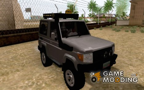 Toyota FJ70 2011 Off Road for GTA San Andreas