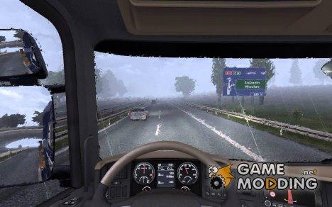 Лобовые стёкла v1.0 для Euro Truck Simulator 2