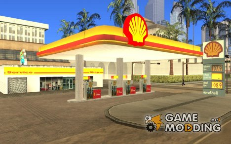 Shell station for GTA San Andreas