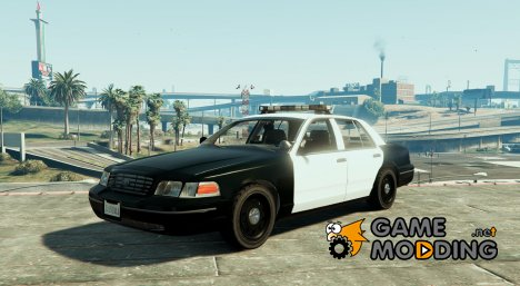 1999 Ford Crown Victoria with Whelen Edge Lightbar 1.3 for GTA 5