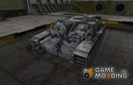 Шкурка для немецкого танка StuG III для World of Tanks