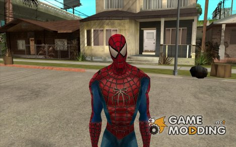 Человек паук враг в отражении for GTA San Andreas