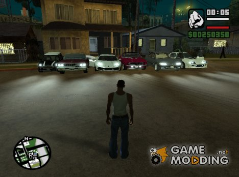 Пак всех авто и мото for GTA San Andreas