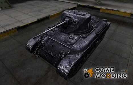 Темный скин для M7 для World of Tanks