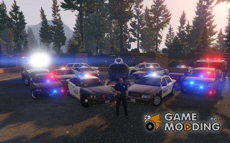 Police cars pack [ELS] for GTA 5