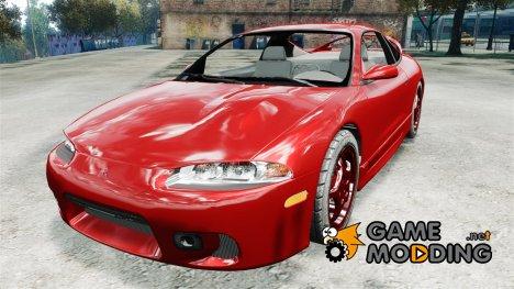 Mitsubishi Eclipse 1999 for GTA 4