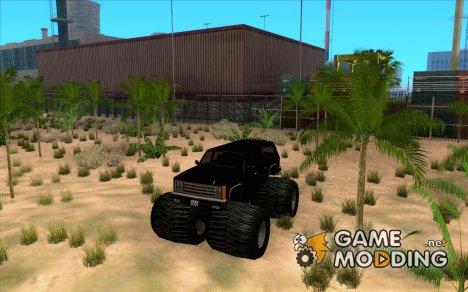 FBI Monster для GTA San Andreas
