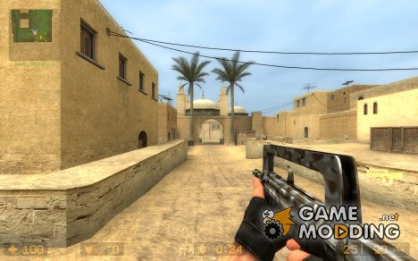 Desert camo Famas for Counter-Strike Source