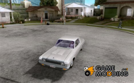 Dodge 330 1963 Max Wedge Ramcharger for GTA San Andreas