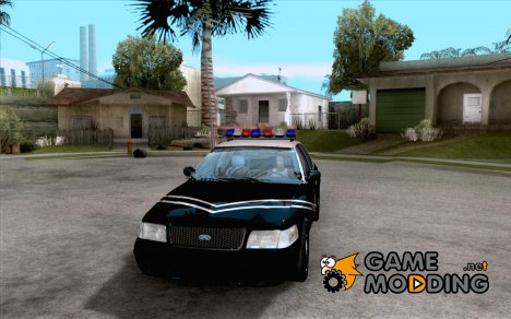 Ford Crown Victoria Idaho Police для GTA San Andreas