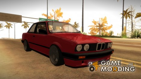 BMW E30 Coupe 1987 for GTA San Andreas