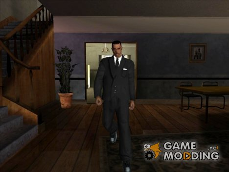 Чёрный костюм для GTA San Andreas