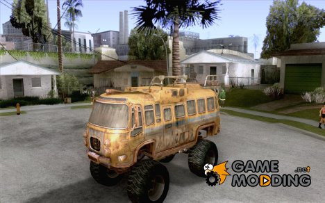 Bullet Storm Bus for GTA San Andreas