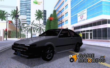 Toyota COROLLA AE86 2JZ-GTE Black Revel for GTA San Andreas