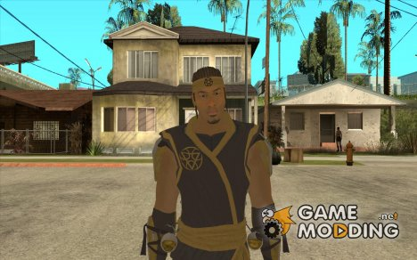 Cyrax из Mortal kombat 9 for GTA San Andreas