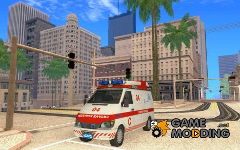 "Скорая Помощь ""04"" из Modern Warfare 2 для GTA San Andreas"
