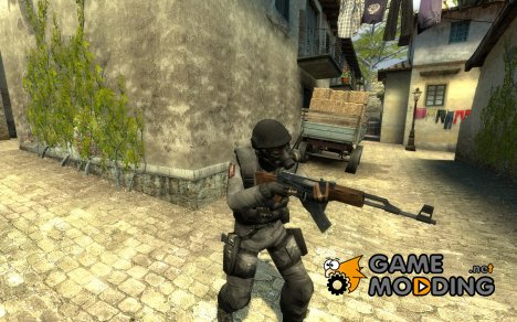 Gray SAS for Counter-Strike Source
