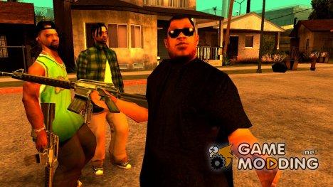 Новый fam1 для GTA San Andreas