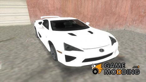 Lexus LFA для GTA Vice City