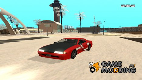 Винил для Elegy - NFSMW для GTA San Andreas