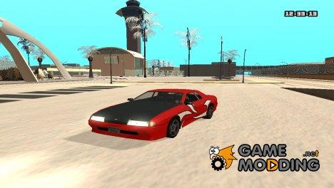 Винил для Elegy - NFSMW for GTA San Andreas