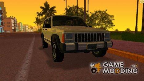 Jeep Cherokee XJ 1984-1991 for GTA Vice City