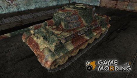 PzKpfw VIB Tiger II (Обновлено.Дорисовано орудие) для World of Tanks