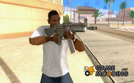MP5A4 with Flashlight for GTA San Andreas