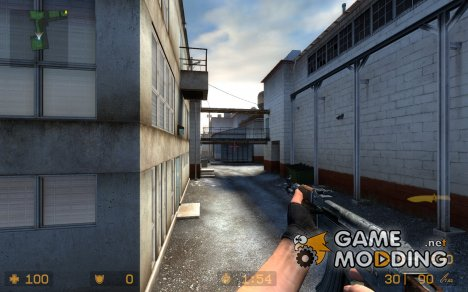 Modderfreak's War-scared Ak47 for Counter-Strike Source