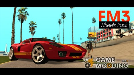 FM3 Wheels Pack Fix для GTA San Andreas