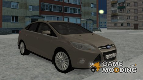 Ford Focus 3 for GTA San Andreas
