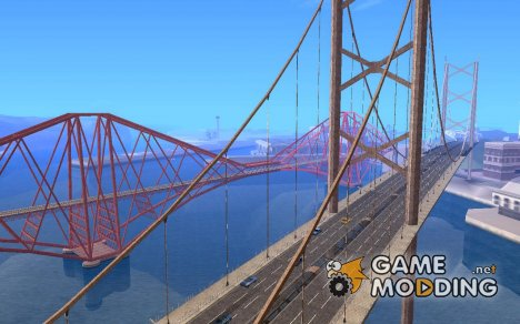 Новые текстуры трёх мостов в SF для GTA San Andreas