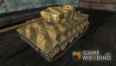 Шкурка для Tiger Польша, лето 1944 for World of Tanks