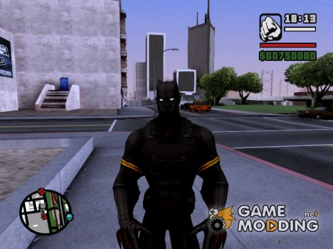 Black Panther Skin for GTA San Andreas