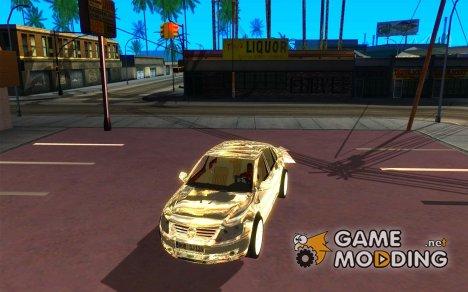 Volkswagen Phaeton хромированный для GTA San Andreas
