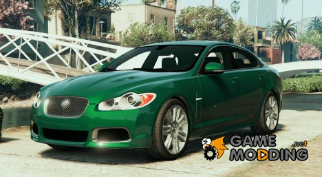 2010 Jaguar XFR v1.0 for GTA 5