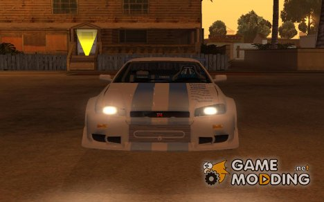 Пак машин из фильма Форсаж для GTA San Andreas