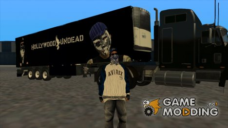Remolque Hollywood Undead для GTA San Andreas