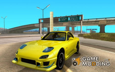 MAzda RX-7 C-West for GTA San Andreas