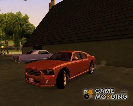 GTA V Bravado Buffalo Sedan 1.0 HQLM для GTA San Andreas