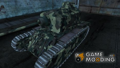 Шкурка для ARL_44 for World of Tanks