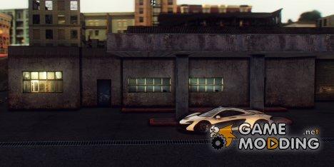 Doherty Garage Retextured для GTA San Andreas