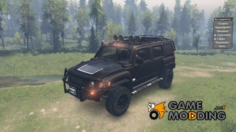 Hummer H3 for Spintires 2014