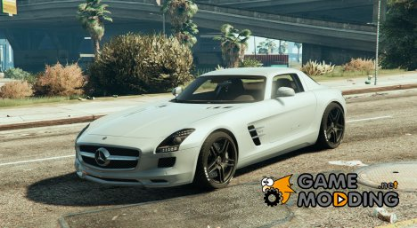 Mercedes Benz SLS AMG Coupe for GTA 5